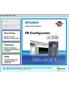 Mitsubishi FR-Configurator