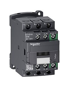 Schneider Electric TeSys D Green LC1D18EHE