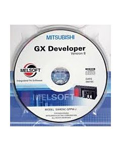 Mitsubishi GX-Developer-FX-CD